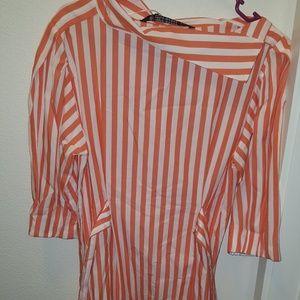 New! Zara Striped Dress